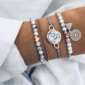 NEW Set of 4 Bracelets